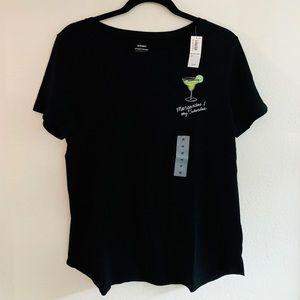 Tshirt w/ margarita print